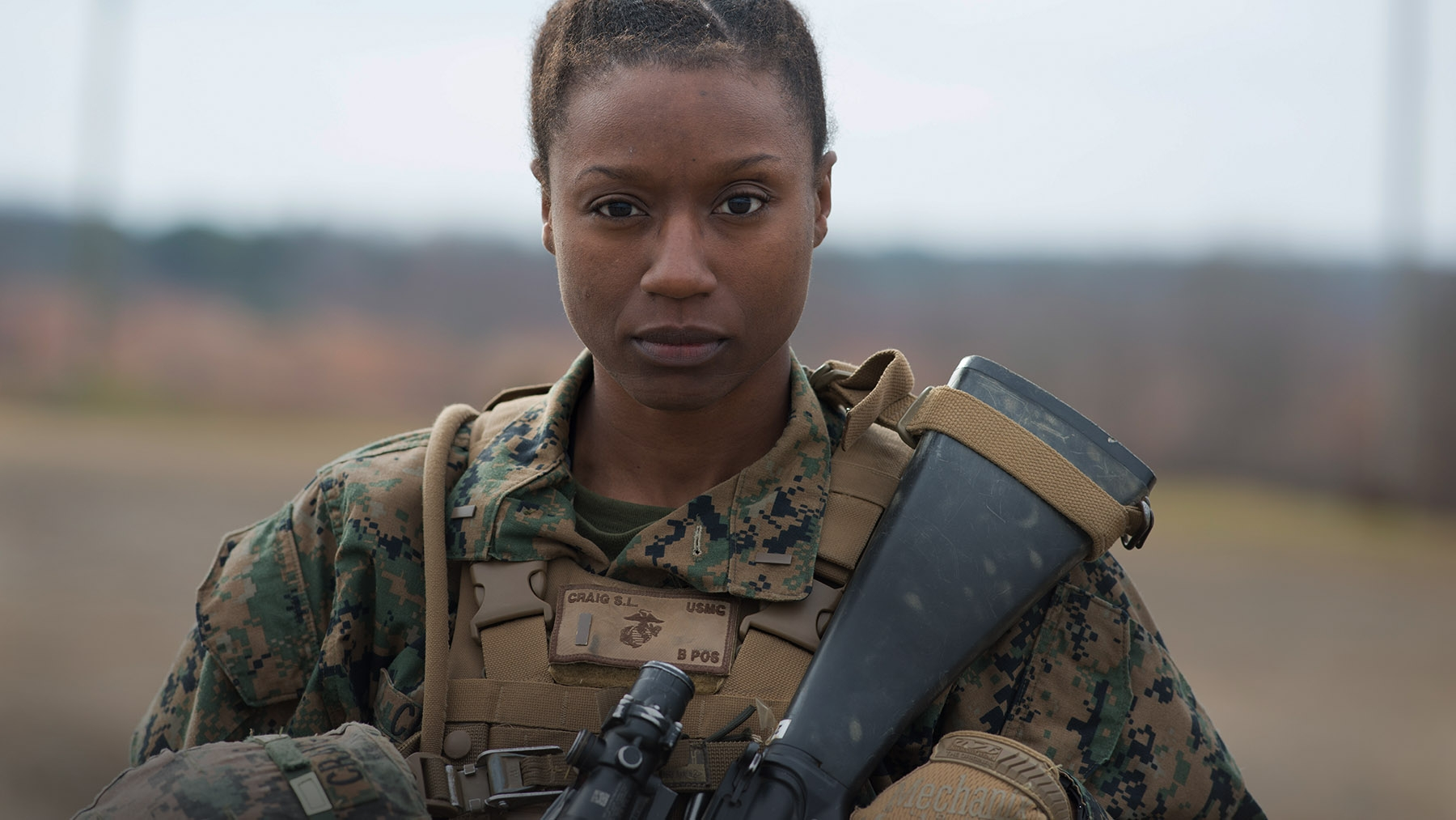 United States Marine Female