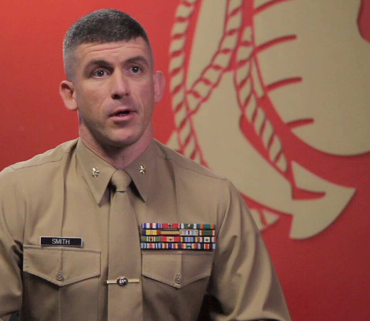 Long form video highlighting the role of a Marine Recruiter.
