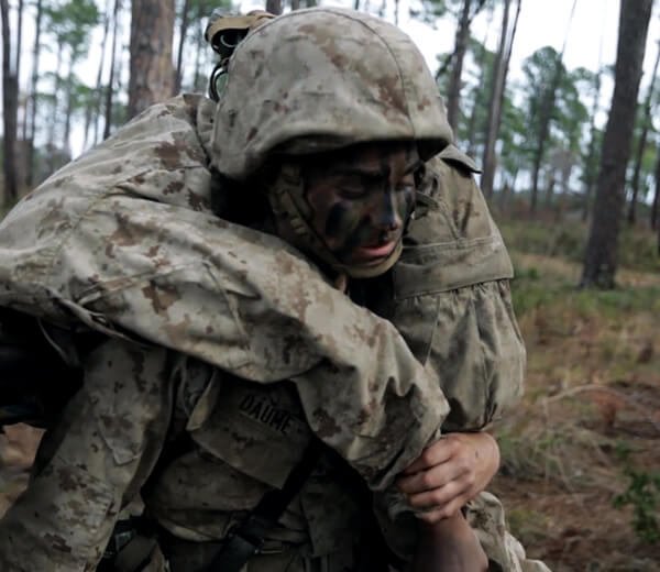 Overcoming doubt in recruit training teaches aspiring Marines prevail.