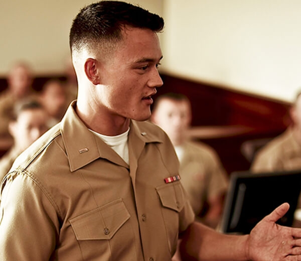 Dating a marine corps officer candidate