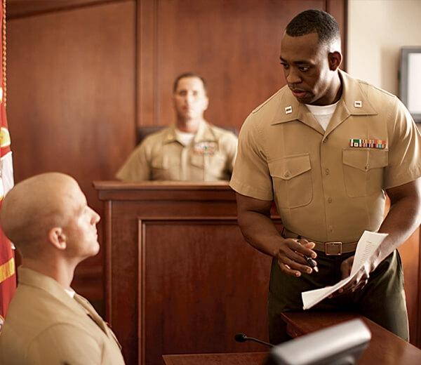Marine Corps Military Law Program   Marines