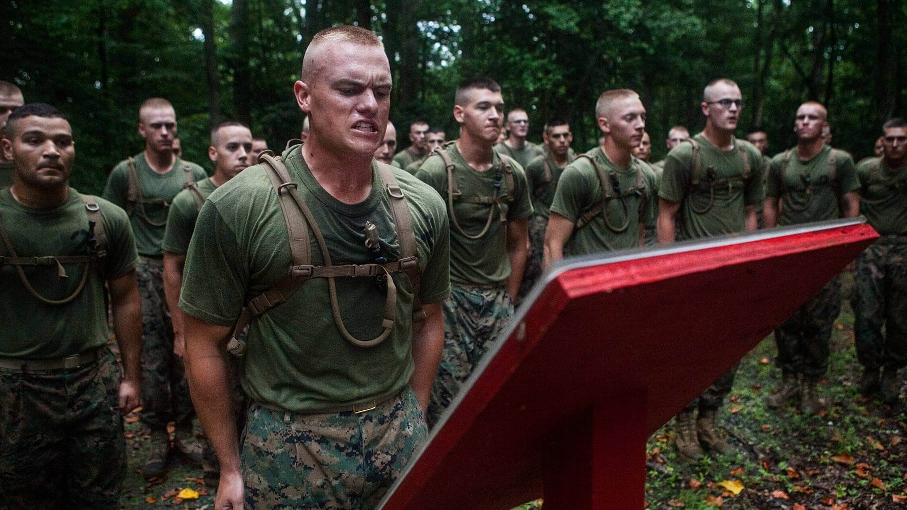 Leadership tasks tests officer candidate's ability to lead under pressure.
