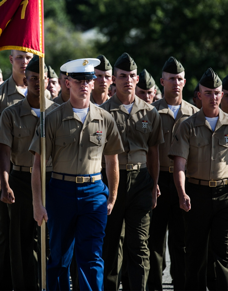 Can you get in the marines with a ged