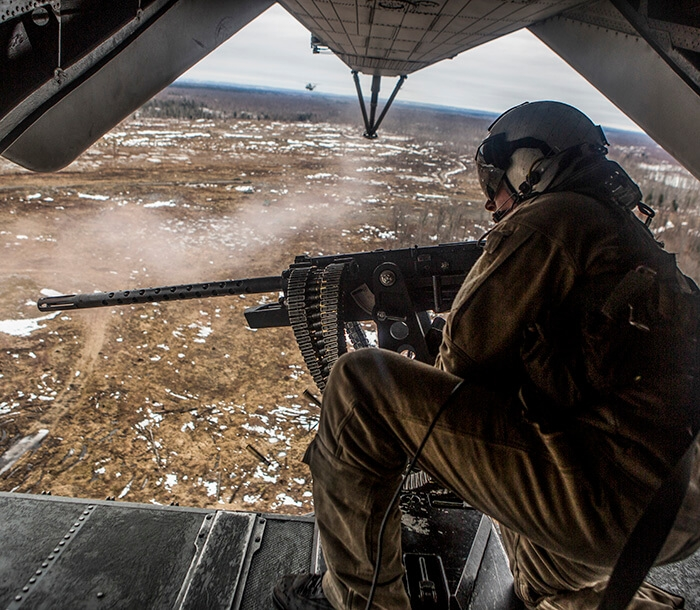 Marine Corps Helicopter Crew Chief