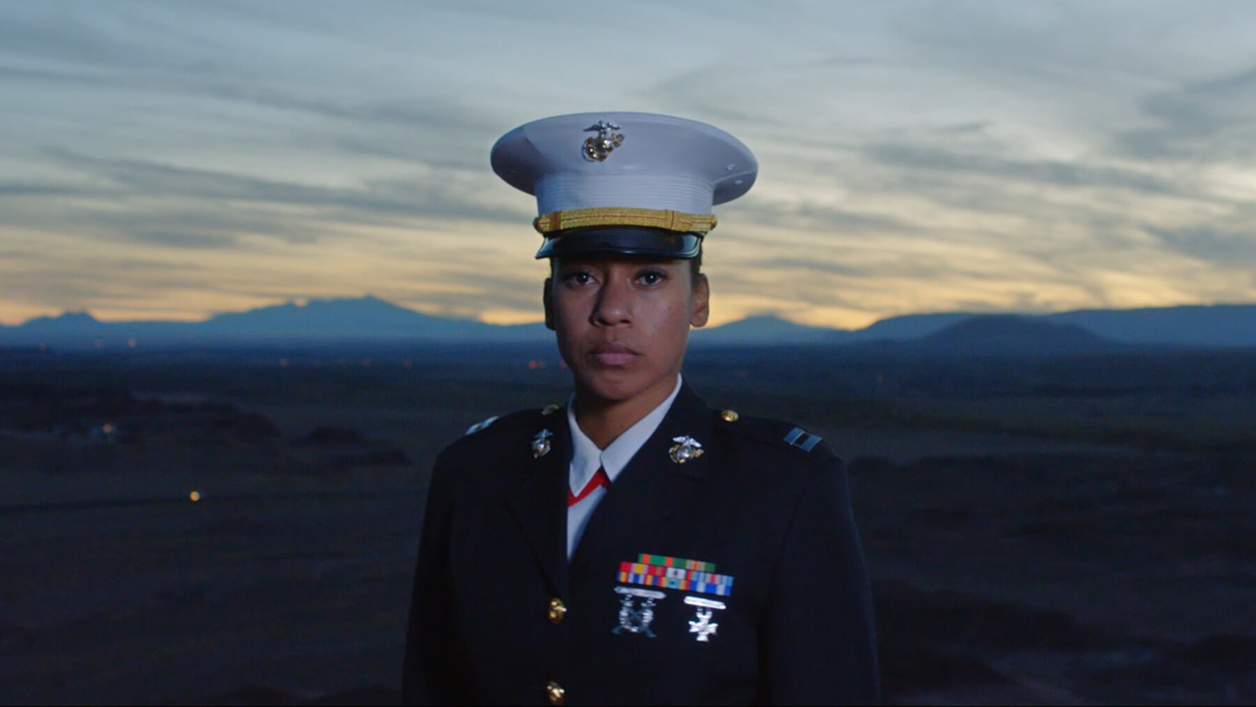 Long form video highlighting Capt Ashley McMillan, United States Marine and Navajo.