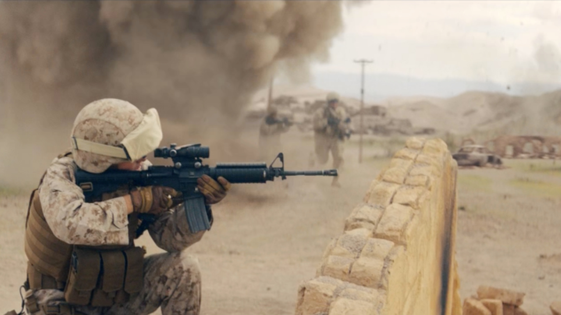 A new commercial from the United States Marines highlighting all of the battles Marines fight and win for our nation.
