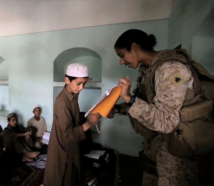 Video details Marines opening Afghan Schools and providing security in the region.