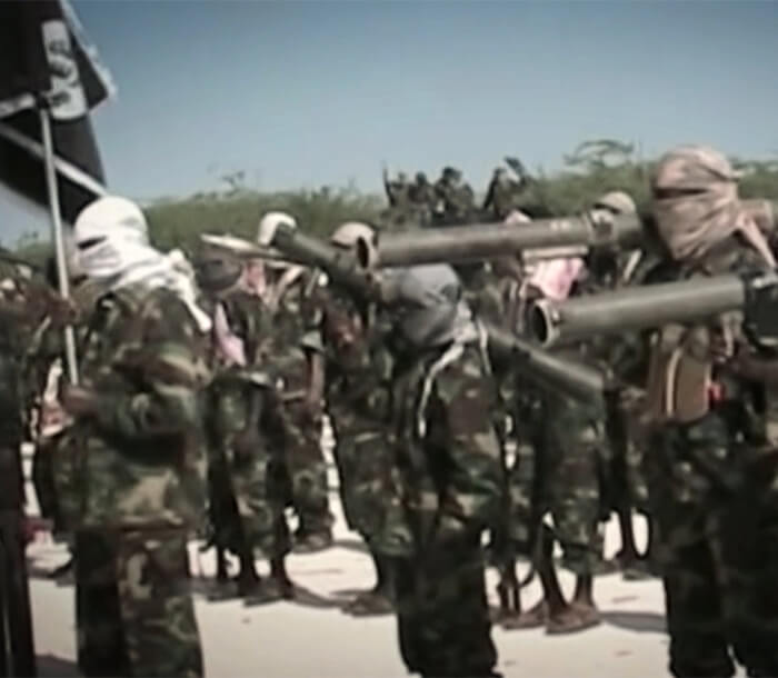 Marine Fight Against Al Shabaab