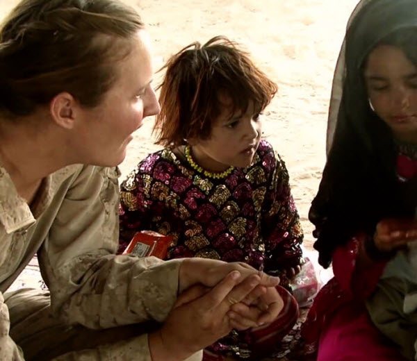 Video outlines how Marines assigned to Female Engagement Teams develop a special rapport to build trust with local civilians and overcome threats in the face of any obstacle.