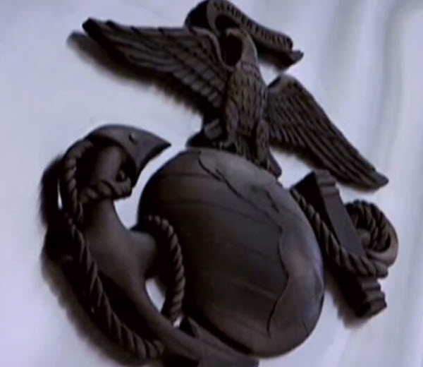 Video outlines the historical symbols of the Marine Corps.