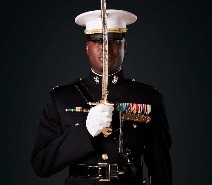 Marine Officers Mameluke Sword